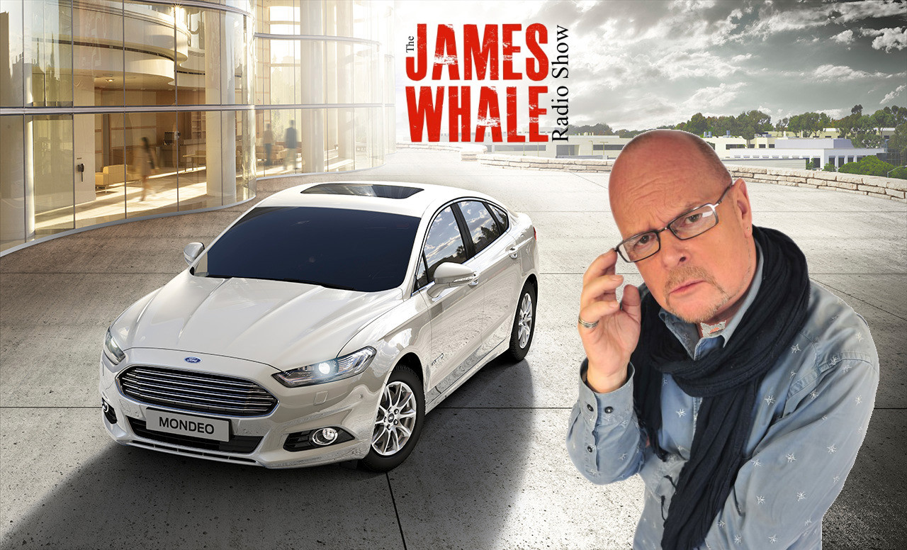Ford Mondeo & James Whale